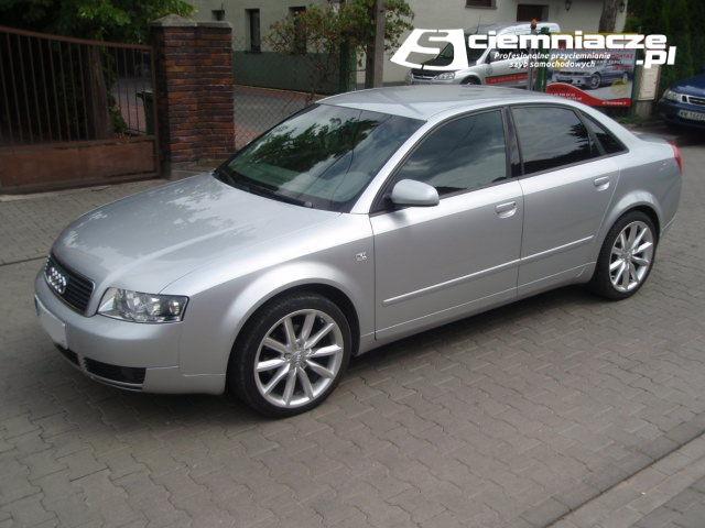 Przyciemnianie Szyb Audi A4 B6 Sedan Ściemniacze