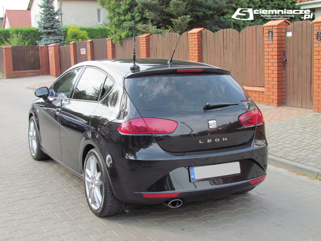 przyciemnianie szyb seat leon 2 hatchback ciemniacze. Black Bedroom Furniture Sets. Home Design Ideas